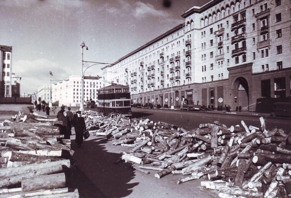 Дровяной вопрос в Москве сорок первого года
