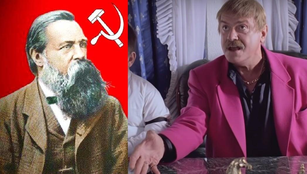 Два разных юбиляра: Энгельс против Михалкова