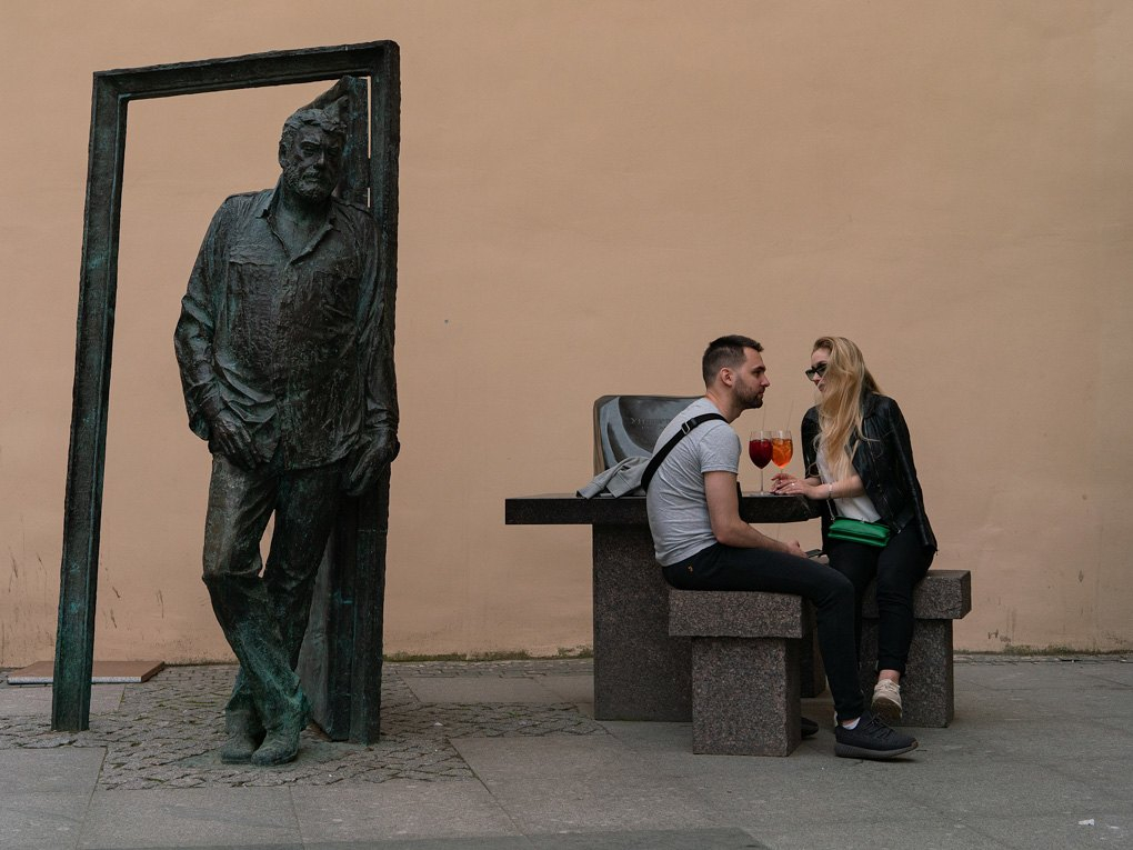 Олександр Матяш о тепле Довлатова